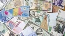 Tỷ giá các đồng tiền chủ chốt ngày 29/12/2017