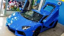 Siêu xe Lamborghini Aventador màu hiếm về Việt Nam