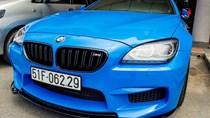 BMW M6 duy nhất Sài Gòn đổi màu xanh 'Ả Rập'