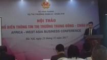 Thị trường Trung Đông, châu Phi còn nhiều cơ hội cho nông sản Việt Nam