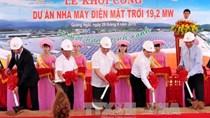 Khởi công nhà máy điện mặt trời 900 tỷ đồng tại Quảng Ngãi