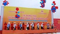 Vinacomin động thổ dự án nhiệt điện 1,8 tỷ USD ở Nghệ An
