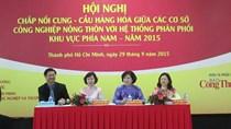 Kí kết 45 hợp đồng kết nối cung cầu hàng Việt Nam tại TPHCM