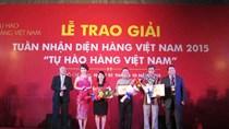 Sabeco, May 10 được vinh danh gian hàng ấn tượng hội chợ Tự hào hàng Việt