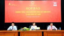 Bộ Công Thương họp báo thông tin về Tuần nhận diện hàng Việt Nam 2015