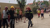 Toàn cảnh vụ cháy tầng cao chung cư HH4a Linh Đàm