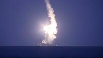 Video chiến hạm Nga nã tên lửa vào mục tiêu IS