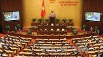 Khai mạc kỳ họp thứ 10, Quốc hội khóa XIII