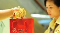Giá vàng lên cao nhất 9 tuần vì chứng khoán Trung Quốc