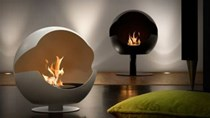 Thiết kế nội thất với lửa, tại sao không?