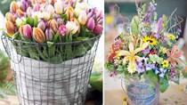 11 cách biến tấu lọ hoa để căn hộ tràn đầy sức sống