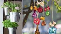 Ý tưởng tự làm vườn treo để trang trí nội thất căn hộ
