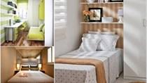 5 cách thiết kế khiến bạn hài lòng với một phòng ngủ tí hon