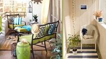 Thiết kế ban công chung cư thành nơi nghỉ dưỡng cho cả gia đình