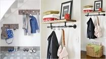 Tự làm giá treo đồ độc đáo cho căn hộ thêm đẹp và gọn gàng