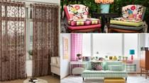 Những cách sử dụng vải làm mềm mại cho nội thất căn phòng