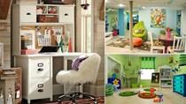 Trang trí phòng ngủ tạo cảm hứng học tập cho trẻ em