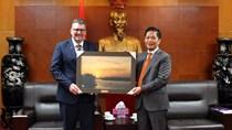 Bộ trưởng Trần Tuấn Anh tiếp Bộ trưởng Thương mại, Du lịch và Đầu tư Úc