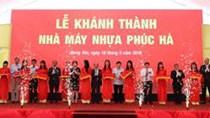 Phúc Hà khánh thành Nhà máy ống Nhựa thứ hai trị giá 15 triệu USD tại Hưng Yên