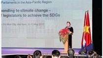 Khai mạc Hội nghị IPU khu vực châu Á-Thái Bình Dương về ứng phó BĐKH