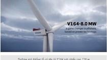 Turbine gió khổng lồ cung cấp lượng điện năng kỷ lục