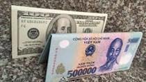 Ngày 13/2 tỷ giá trung tâm điều chỉnh tăng, USD quốc tế giảm nhanh