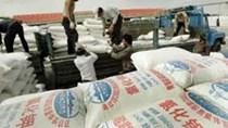 Nhập khẩu phân bón giảm ba tháng liên tiếp