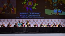 Chính thức tuyên bố thành lập Cộng đồng ASEAN