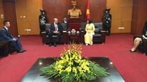 Thứ trưởng Hồ Thị Kim Thoa tiếp Đại diện Công ty Quality Wool