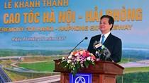 Thủ tướng phát lệnh thông xe cao tốc Hà Nội-Hải Phòng