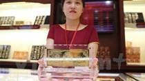 Giá vàng SJC và Bảo tín Minh Châu tăng giảm ngược chiều nhau