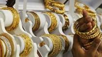 Giá vàng tiếp tục suy yếu