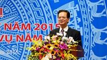Thủ tướng dự Hội nghị tổng kết năm 2015 của Bộ Công Thương