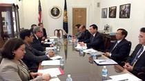 Bộ trưởng Vũ Huy Hoàng làm việc với Đại diện Thương mại Hoa Kỳ: Thúc đẩy đàm phán TPP