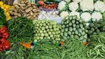 Giá thực phẩm ngày 14/8/2020: Rau củ tăng giá trở lại