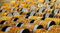 """Giá vàng hôm nay ngày 9/10: Vàng tăng, giảm """"chớp nhoáng"""""""