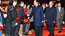 Thủ tướng Việt-Bỉ trao đổi về vấn đề Biển Đông và cuộc chiến chống khủng bố