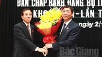 Ông Bùi Văn Hải tái cử Bí thư Tỉnh ủy Bắc Giang