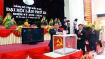 Ông Nguyễn Văn Du tái đắc cử Bí thư Bắc Kạn
