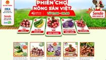 """""""Siêu thị nông sản Việt trực tuyến"""" cho người tiêu dùng trên Sàn thương mại điện tử Sendo"""