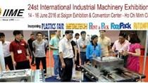 14-16/6: Triển lãm quốc tế máy móc, thiết bị công nghiệp (IIME VIETNAM)