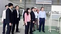 Thứ trưởng Đỗ Thắng Hải làm việc tại Khu phức hợp Chu Lai – Trường Hải