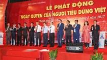 Cả nước hưởng ứng Ngày Quyền của Người tiêu dùng Việt Nam 2017
