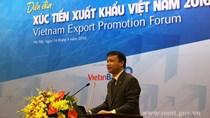 Mời tham dự Diễn đàn Xúc tiến xuất khẩu Việt Nam năm 2017