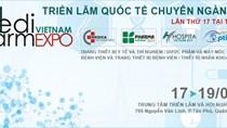 17-19/8: Triển lãm Quốc tế Chuyên ngành Y Dược Việt Nam 2017