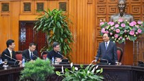 Thủ tướng kêu gọi doanh nghiệp Hong Kong đầu tư vào hạ tầng Việt Nam