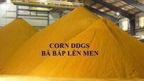 Nhập khẩu trở lại bột bã ngô từ Mỹ