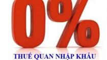 Thêm hàng nghìn mặt hàng nhập khẩu từ Nhật hưởng thuế 0%