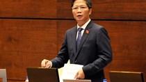 Bộ trưởng tiếp thu ý kiến của các Đại biểu đối với dự án Luật Cạnh tranh (sửa đổi)