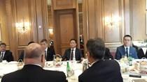 Bộ trưởng Trần Tuấn Anh làm việc với Bộ Kinh tế - Năng lượng Liên bang Đức